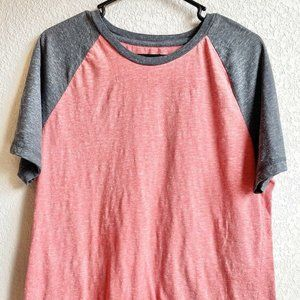 Arizona Men's XL Jersey Shirt Grey Orange Cotton